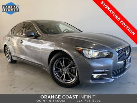 2017 Infiniti Q50 3.0T Signature Edition for sale at ORANGE COAST CARS in Westminster CA