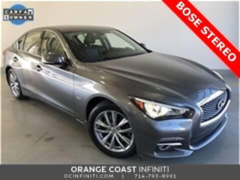 2017 Infiniti Q50 3.0T Premium for sale at ORANGE COAST CARS in Westminster CA
