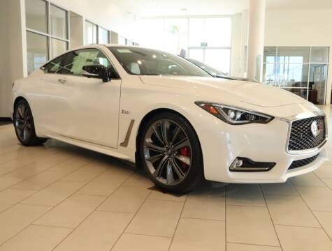 2020 Infiniti Q60 for sale at ORANGE COAST CARS in Westminster CA