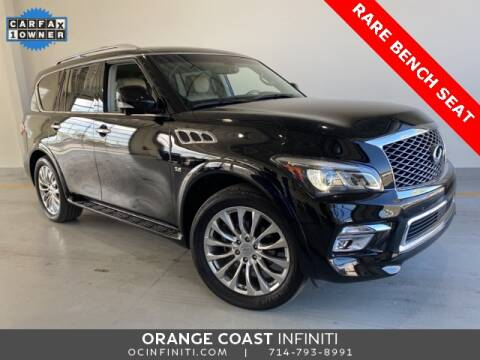 2016 Infiniti QX80 for sale at ORANGE COAST CARS in Westminster CA