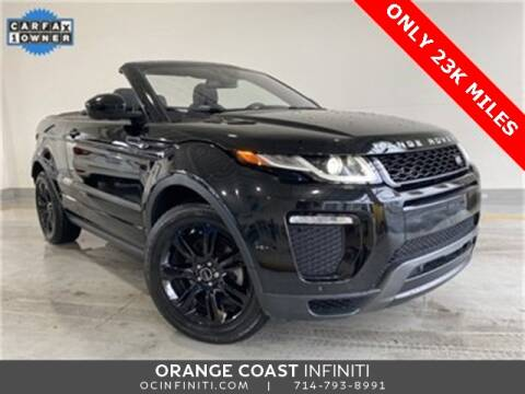 2017 Land Rover Range Rover Evoque Convertible for sale at ORANGE COAST CARS in Westminster CA