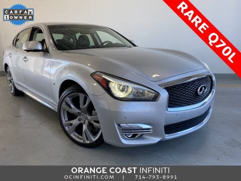 2017 Infiniti Q70L for sale at ORANGE COAST CARS in Westminster CA
