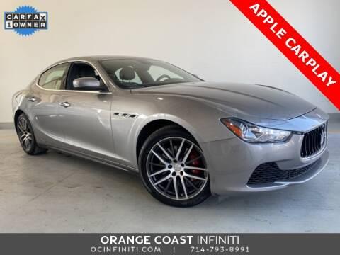 2017 Maserati Ghibli for sale at ORANGE COAST CARS in Westminster CA