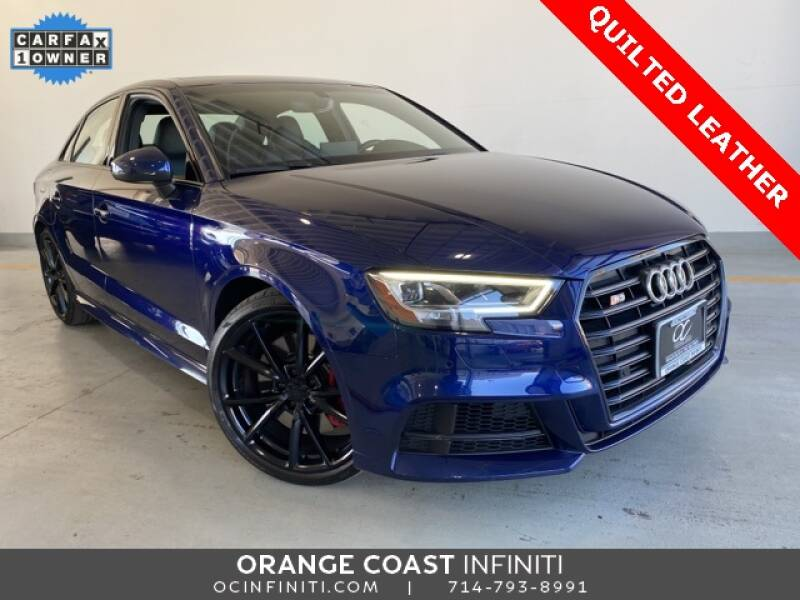 2018 Audi S3 for sale at ORANGE COAST CARS in Westminster CA