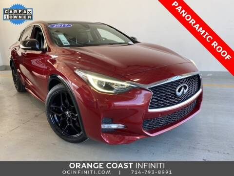 2017 Infiniti QX30 for sale at ORANGE COAST CARS in Westminster CA