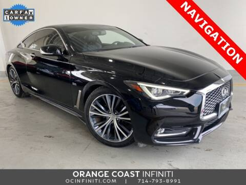 2017 Infiniti Q60 for sale at ORANGE COAST CARS in Westminster CA