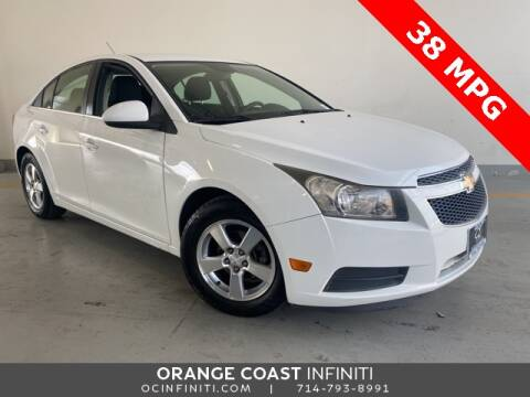 2013 Chevrolet Cruze for sale at ORANGE COAST CARS in Westminster CA