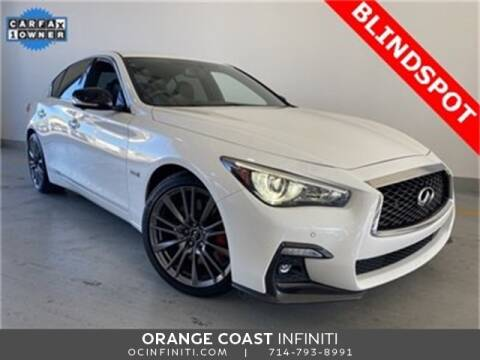 2019 Infiniti Q50 for sale at ORANGE COAST CARS in Westminster CA