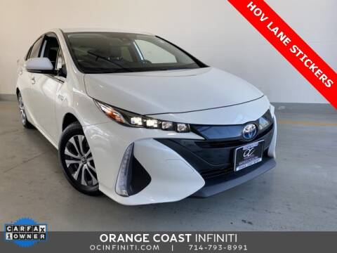 2020 Toyota Prius Prime for sale at ORANGE COAST CARS in Westminster CA