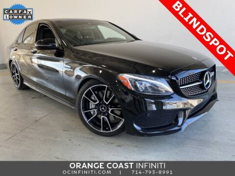 2017 Mercedes-Benz C-Class for sale at ORANGE COAST CARS in Westminster CA