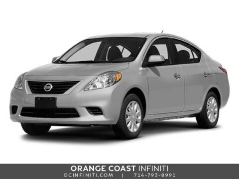 2014 Nissan Versa for sale at ORANGE COAST CARS in Westminster CA