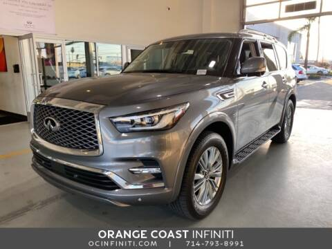 2019 Infiniti QX80 for sale at ORANGE COAST CARS in Westminster CA