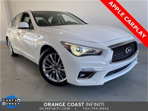 2020 Infiniti Q50 for sale at ORANGE COAST CARS in Westminster CA