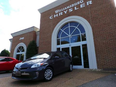 2013 Toyota Prius Plug-in Hybrid for sale in Williamsburg, VA