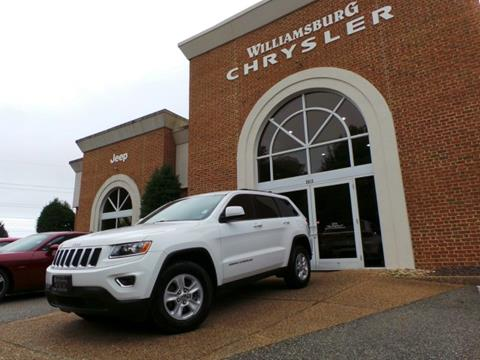 2015 Jeep Grand Cherokee for sale in Williamsburg, VA