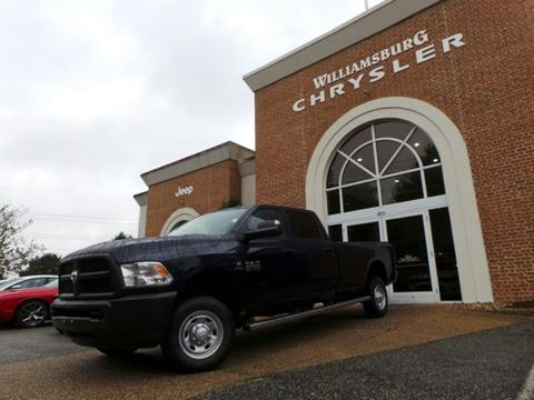 2018 RAM Ram Pickup 2500 for sale in Williamsburg, VA