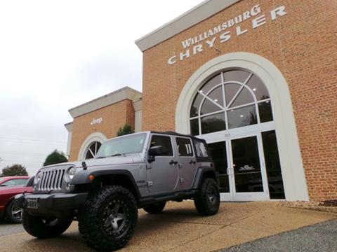 2015 Jeep Wrangler Unlimited for sale in Williamsburg, VA
