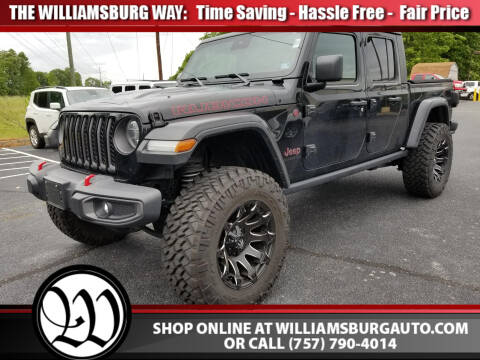 2020 Jeep Gladiator Rubicon for sale at Williamsburg Chrysler Jeep Dodge in Williamsburg VA