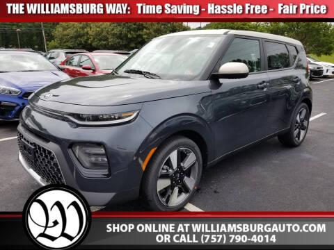 2020 Kia Soul EX for sale at Williamsburg Chrysler Jeep Dodge in Williamsburg VA