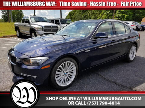2012 BMW 3 Series 328i for sale at Williamsburg Chrysler Jeep Dodge in Williamsburg VA