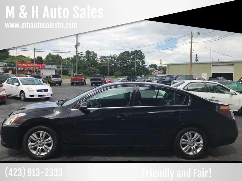 2012 Nissan Altima For Sale At M U0026 H Auto Sales In Jonesborough TN