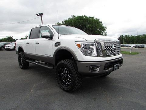 2017 Nissan Titan for sale in Hainesport, NJ
