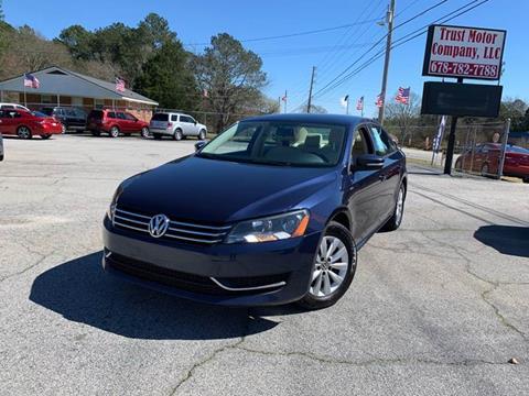 2014 Volkswagen Passat for sale in Stockbridge, GA
