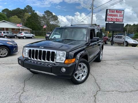2010 Jeep Commander for sale in Stockbridge, GA