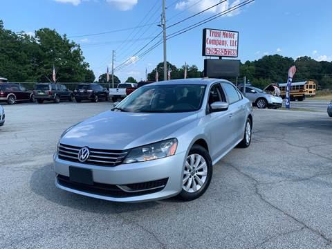 2013 Volkswagen Passat for sale in Stockbridge, GA