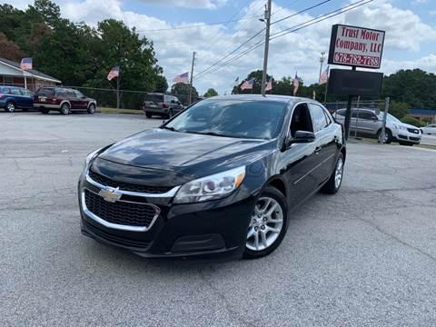2016 Chevrolet Malibu Limited for sale in Stockbridge, GA