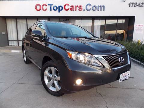 2011 Lexus RX 350 for sale in Irvine, CA
