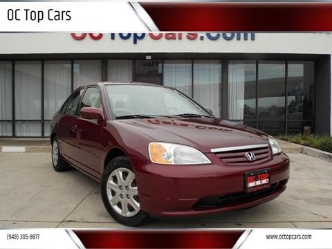 2003 Honda Civic For Sale In Irvine Ca
