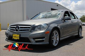 2012 Mercedes-Benz C-Class for sale at Mac Haik Auto Direct in Houston TX
