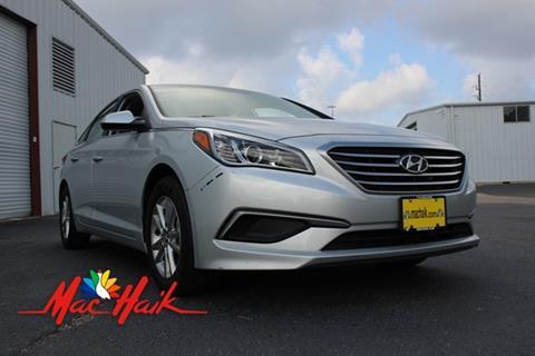 2017 Hyundai Sonata for sale at Mac Haik Auto Direct in Houston TX