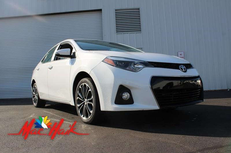 2015 Toyota Corolla for sale at Mac Haik Auto Direct in Houston TX