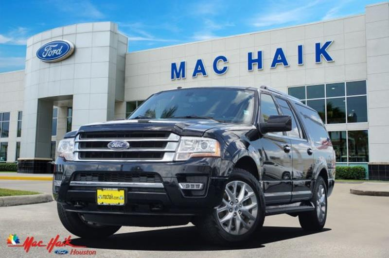 Ford Expedition El For Sale At Mac Haik Auto Direct In Houston Tx