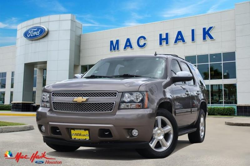 2013 Chevrolet Tahoe For Sale At Mac Haik Auto Direct In Houston TX