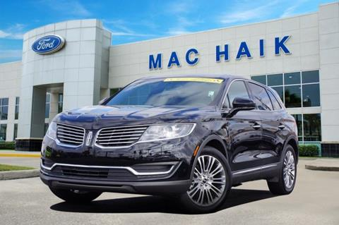 2018 Lincoln MKX for sale in Houston, TX