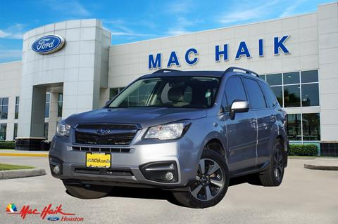 2017 Subaru Forester for sale in Houston, TX