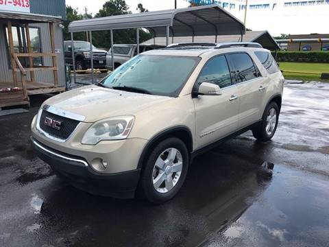 2008 GMC Acadia for sale at Texas 1 Auto Finance in Kemah TX