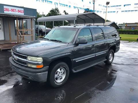 2003 Chevrolet Suburban for sale at Texas 1 Auto Finance in Kemah TX