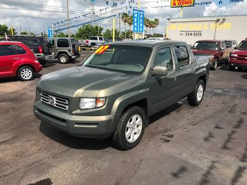 2007 Honda Ridgeline for sale at Texas 1 Auto Finance in Kemah TX