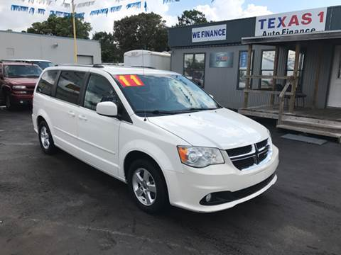 2011 Dodge Grand Caravan for sale at Texas 1 Auto Finance in Kemah TX
