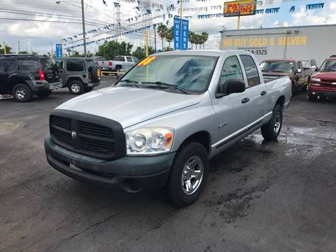 2008 Dodge Ram Pickup 1500 for sale at Texas 1 Auto Finance in Kemah TX