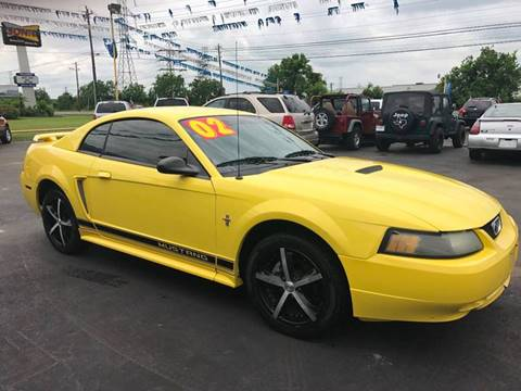 2002 Ford Mustang for sale at Texas 1 Auto Finance in Kemah TX