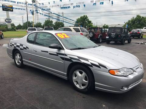 2002 Chevrolet Monte Carlo for sale at Texas 1 Auto Finance in Kemah TX