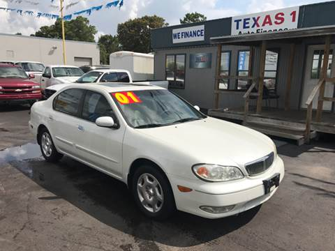 2001 Infiniti I30 for sale at Texas 1 Auto Finance in Kemah TX