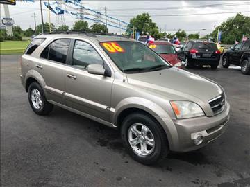 2006 Kia Sorento for sale at Texas 1 Auto Finance in Kemah TX