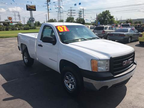 2007 GMC Sierra 1500 for sale at Texas 1 Auto Finance in Kemah TX