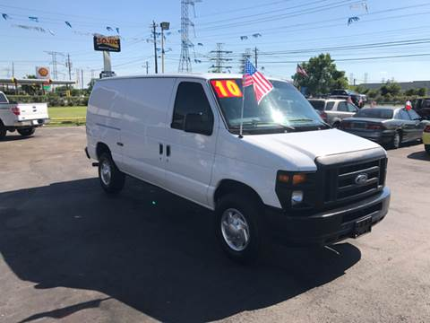 2010 Ford E-Series Cargo for sale at Texas 1 Auto Finance in Kemah TX